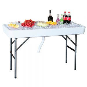 "The ""4′ Chill N' Fill Table"""